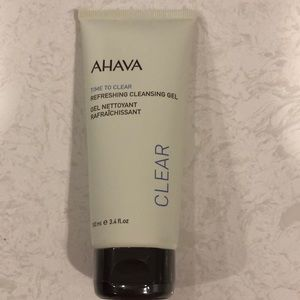 Ahava time to clear refreshing cleansing gel NEW